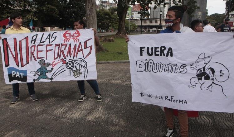 Diversas protestas se han registrado en contra de las reformas.