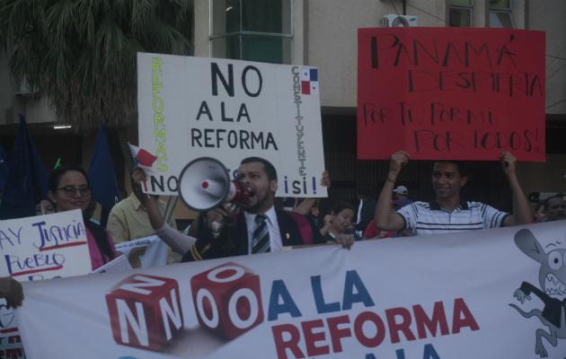Mes y medio darán los gremios para que el presidente Laurentino Cortizo analice la propuesta./ Víctor Arosemena