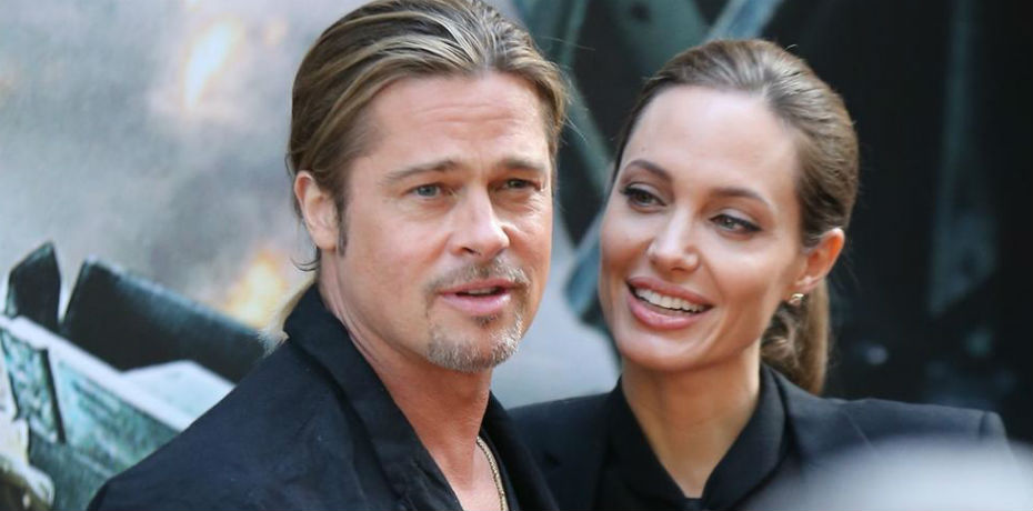 Brad Pitt y Angelina Jolie. Foto: Archivo
