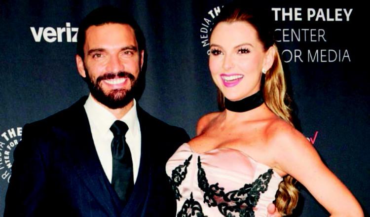 Julián Gil y Marjorie de Sousa.