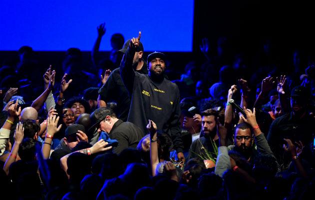 """""""Jesus Is King"""", el noveno álbum de Kanye West, amplía temas religiosos que siempre han subrayado su música. Foto/ Kevin Winter/Getty Images para Aba."""