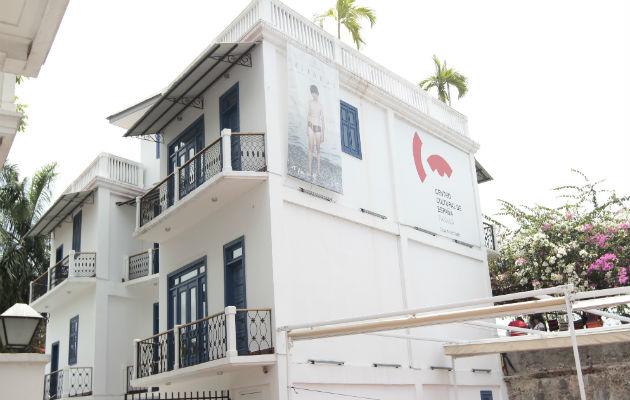 Centro Cultural de España, Casa del Soldado, en Plaza de Francia, Casco Antiguo. Foto: Panamá América