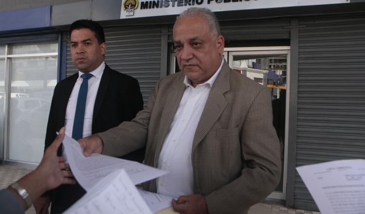 La querella fue interpuesta por el abogado Luis Eduardo Camacho G. en el Ministerio Público. VÍCTOR AROSEMENA