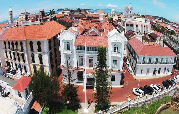 El contrato para la restauración de varias áreas de la presidencia es por 2.1 millones de dólares. Foto: Panamá América.