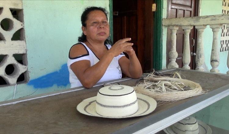 Artesana María Mendoza. Foto Juan Carlos Lamboglia