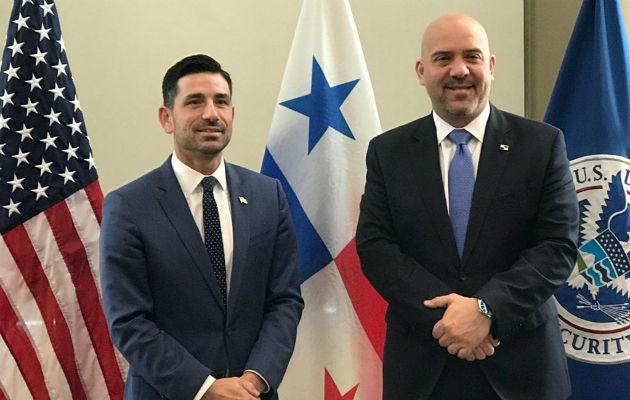 El ministro Mirones también conversó con representantes del Departamento de Estado y del Departamento de Defensa de Estados Unidos, para abordar temas como apoyo y cooperación en asuntos de seguridad.