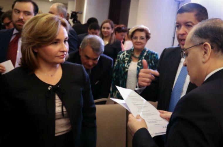 Kenia Porcell asumió el cargo el 2 de enero de 2015 cuando fue nombrada por Juan Carlos Varela. Foto: Panamá América.