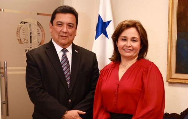 Eduardo Ulloa tomó posesión este jueves 2 de enero de la presidencia de la República. Foto: Panamá América.