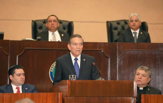 El presidente Laurentino Cortizo manifestó su gobierno recibió un desastre.