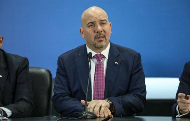 Rolando Mirones dijo que le corresponde al mandatario, Laurentino Cortizo, hablar sobre el informe.