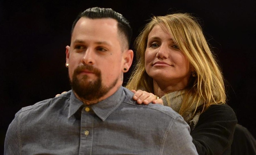 Cameron Díaz y su marido, Benji Madden. Foto: EFE