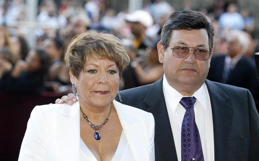 Marcella y Abraham Quintanilla, padres de Selena. Foto: EFE