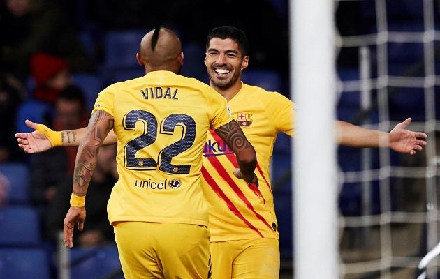 Barcelona rescató un punto.