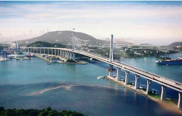 La construcción del Cuarto Puente sobre el Canal de Panamá tiene un costo de $1,518 millones.