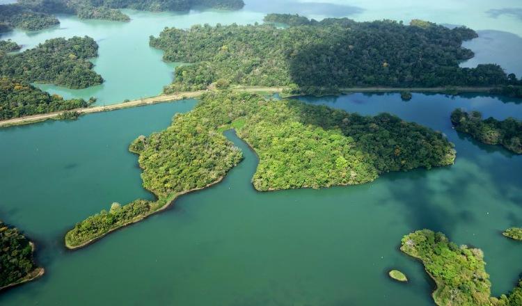El lago Gatún abastece a varias potabilizadoras del sector oeste. Tomada de Internet
