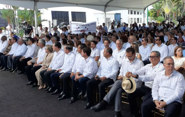 Actos en el Centro de Capacitación Ascanio Arosemena de la Autoridad del Canal de Panamá. Foto/ Víctor Arosemena