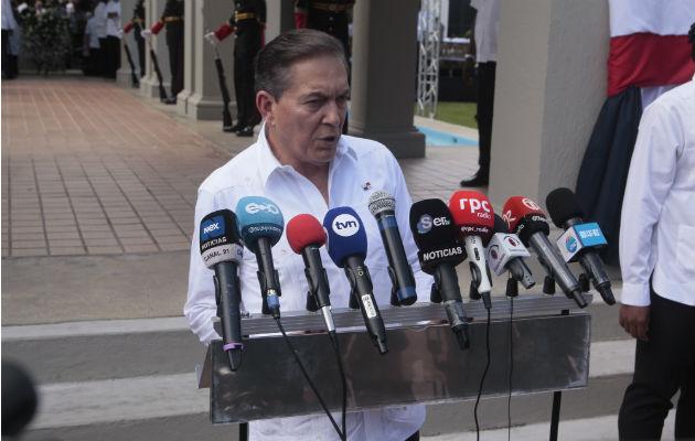 Laurentino Cortizo, presidente de la República. Foto/ Víctor Arosemena