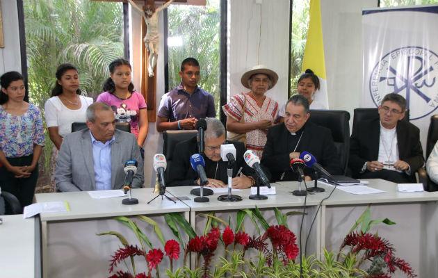 Firma de la Red Eclesial Ecológica Mesoamericana.