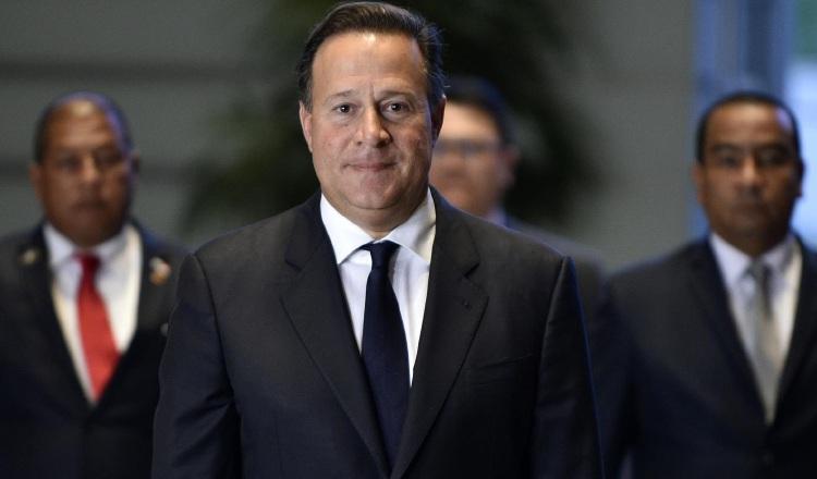 Expresidente Juan Carlos Varela