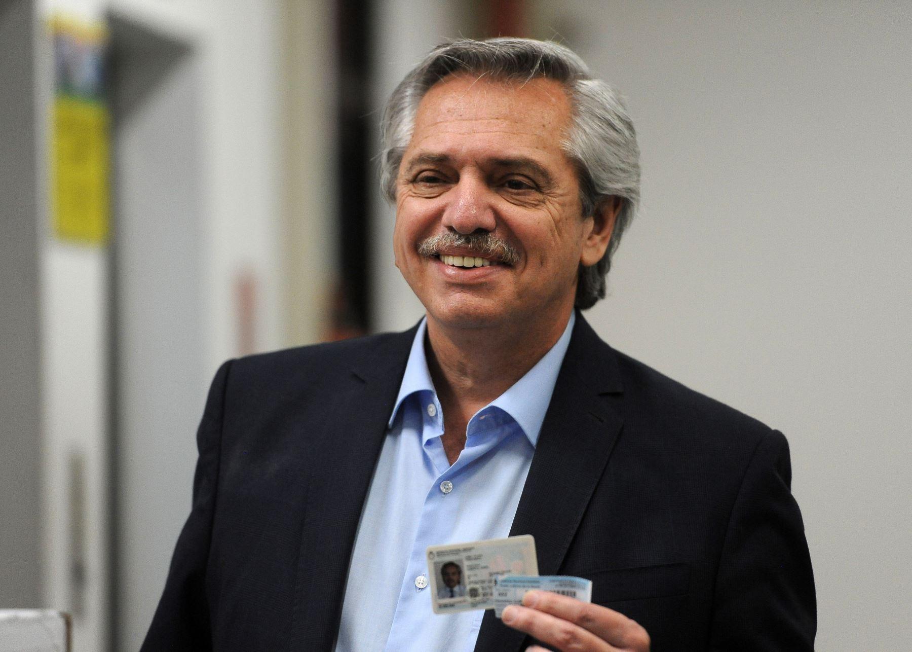 Alberto Fernández, presidente de Argentina. Foto/EFE