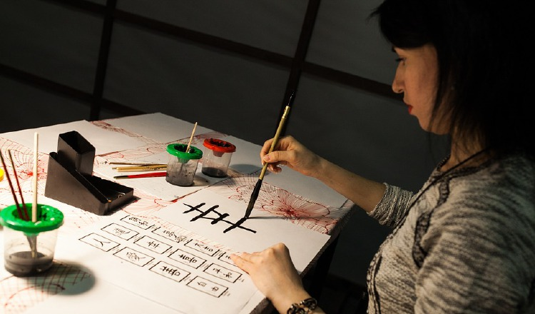 Caligrafía, arte ancestral. En Bunkasai, Festival de la Cultura Japonesa, en Santiago, Veraguas, el 18 de enero, podrán apreciarlo. Pixabay