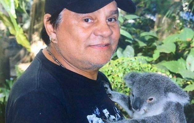 Durán visitó el santuario de los koalas en 2017.
