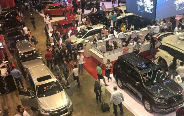 Más de 6 mil autos se vendieron durante el Panama Motor Show 2019. Foto: Cortesía.