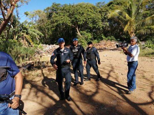 La Policía Nacional al conocer del secuestro armó una fuerza de búsqueda para dar con la víctima y sus atacantes.. Foto/José Vásquez
