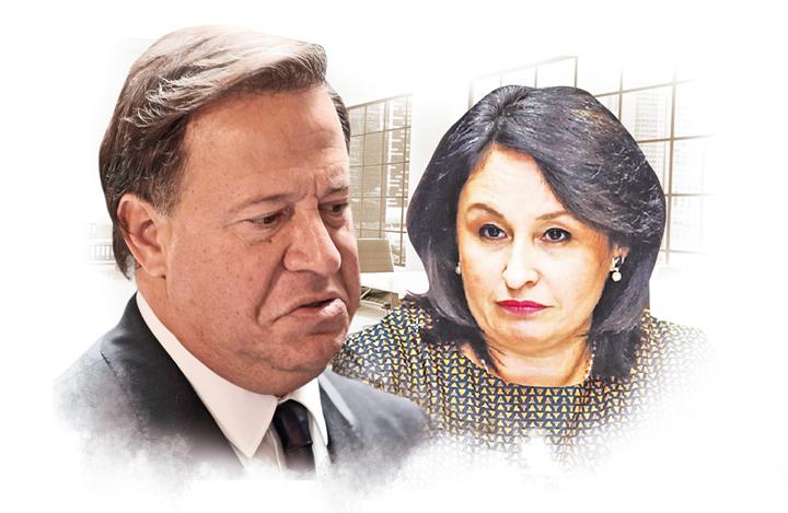 Juan Carlos Varela y Kenia Porcell han sido duramente cuestionados por sus actuaciones como funcionarios públicos.