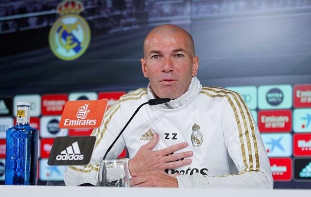 Zidane repasó la actualidad del Madrid.