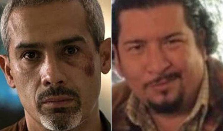 Los actores Jorge Navarro y Luis Gerardo Rivera.