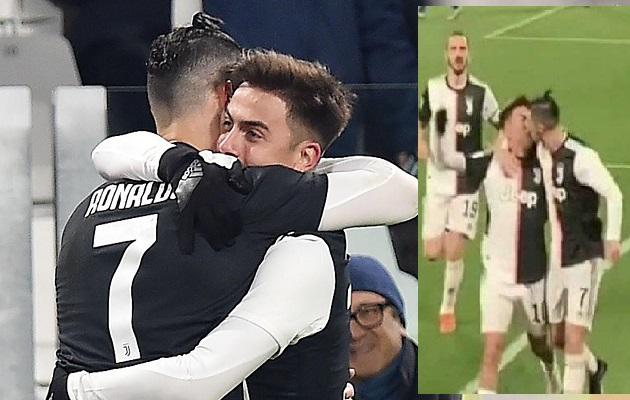 Cristiano fue figura ante Parma.