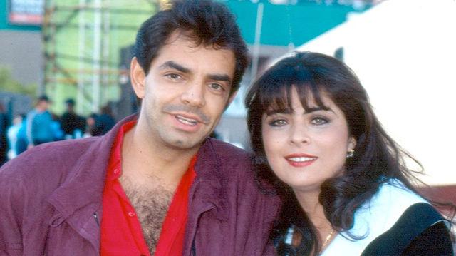 Eugenio Derbez y Victoria Ruffo.