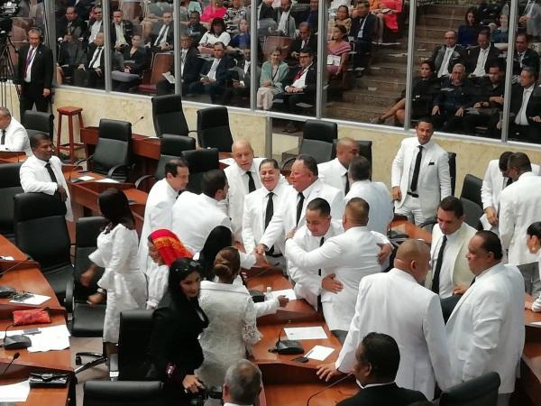 El proyecto no solo incluye el voto electrónico, sino otros mecanismos de transparencia, manifestó Marcos Castillero presidente de la Asamblea Nacional.