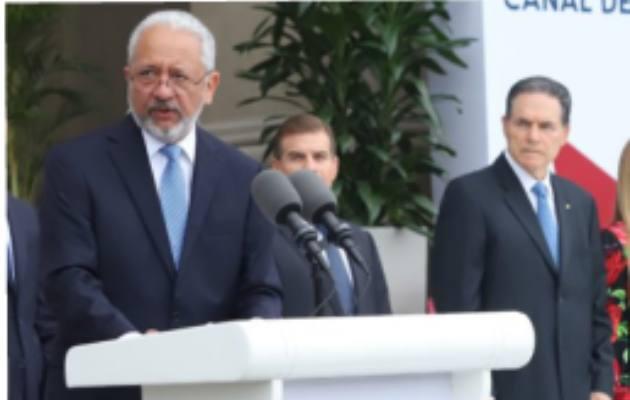 Ricaurte Vásquez, quien hoy es administrador de la ACP, fue ministro de Economía y Finanzas en el gobierno de Martín Torrijos.