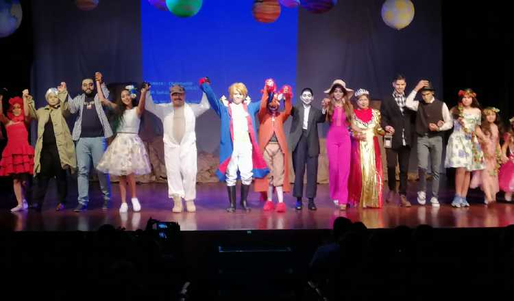 Obra de teatro 'El Principito'. Cortesía