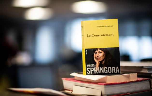 Un libro de una víctima de Gabriel Matzneff desató debate sobre sus actitudes permisivas al sexo con menores. Foto / Martin Bureau/Agence France-Presse — Getty Images.