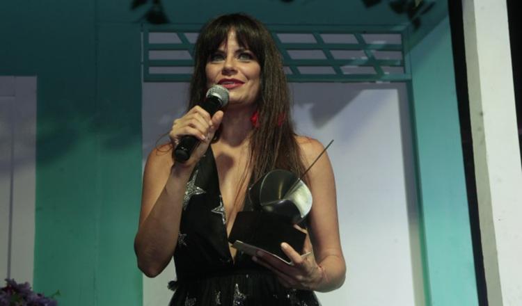 Yarelí Cartín, destacada actriz y productora teatral.