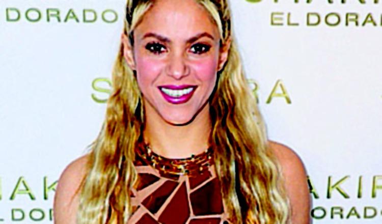 Shakira, cantante colombiana.