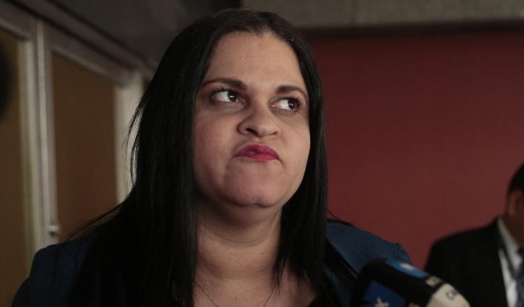 Leyda Saénz, fiscal especializada anticorrupción encargada de llevar por parte el Ministerio Público el caso Pandeportes. Víctor Arosemena