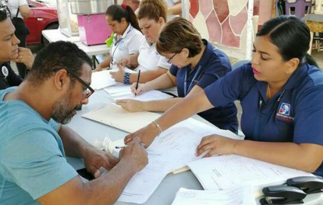 El Banco Hipotecario Nacional trabaja arduamente con las ferias de actualización los fines de semana en los proyectos habitacionales.