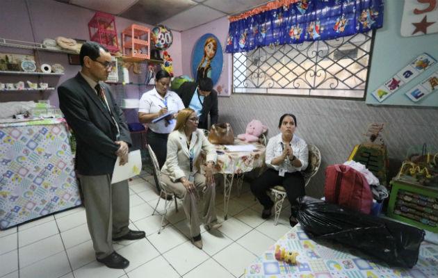 La inspección se efectuó en un apartamento ubicado en la avenida Santa Elena.