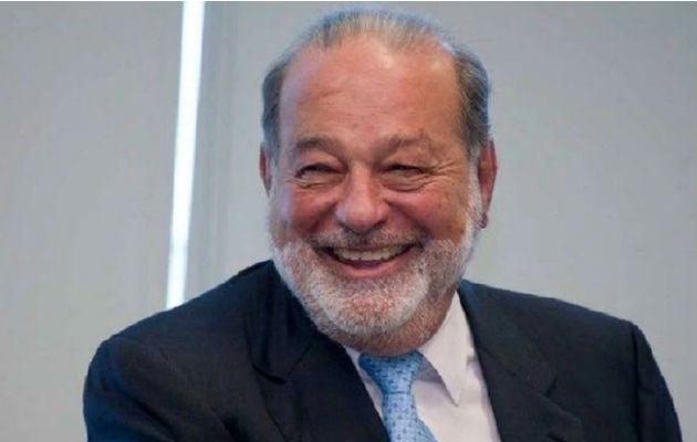 Esa imagen de hombre sencillo y bonachón no impide que Slim esté fuertemente ligado a los poderosos mexicanos. Foto: EFE.