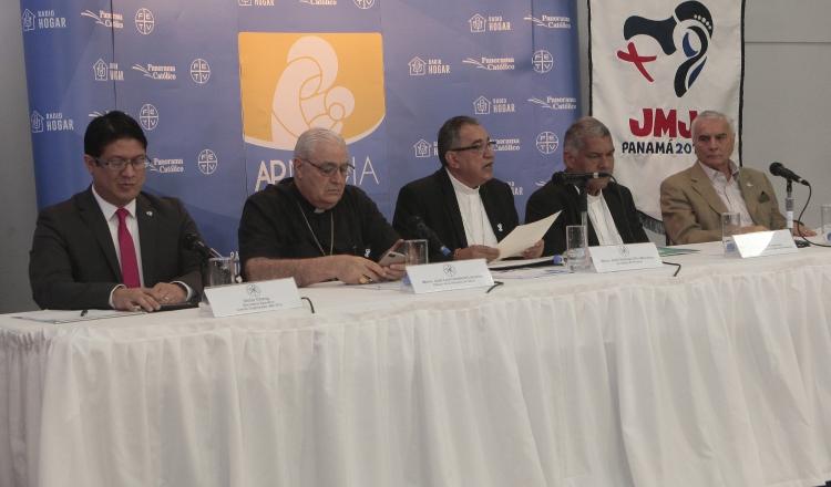 El informe de la JMJ por parte de la Iglesia católica fue revelado por las principales autoridades eclesiásticas del país. Víctor Arosemena