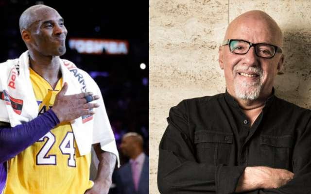 Kobe Bryant y Paulo Coelho. Foto: Tomada de internet