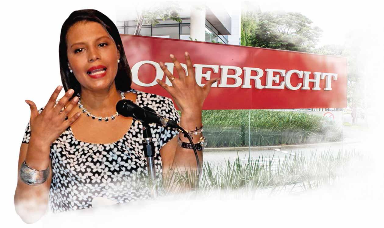 La fiscal Zuleyka Moore está al frente de las investigaciones por el caso Odebrecht.