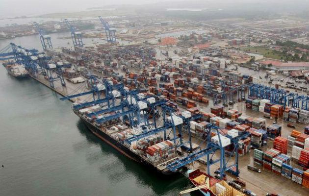 Panamá Ports Company tiene en concesión los puertos de Balboa y Cristóbal.