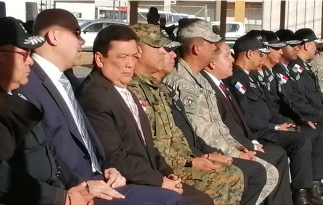 El procurador Eduardo Ulloa participó de la ceremonia de la destrucción de armas de fuego.
