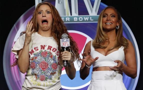 Shakira y J-Lo. EFE