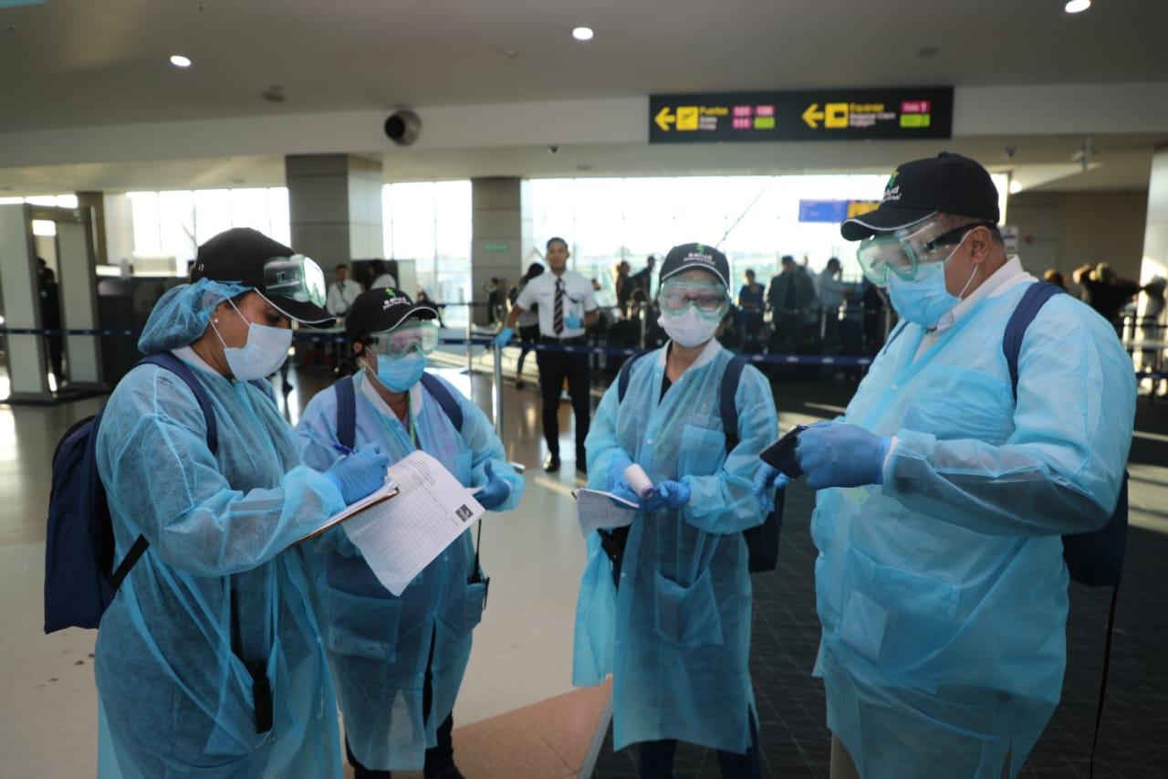 Panamá ha realizado pruebas a cinco viajeros por sospecha de coronavirus, pero todos han resultado negativos. Foto: Minsa.
